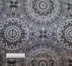 šatovka stříbrná lehká a vzdušná- umělé hedvábí- koshibo Mavatex
