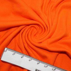 RIB 1x1 jasně oranžová