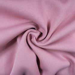 Teplákovina růžová počesaná - 310 gsm