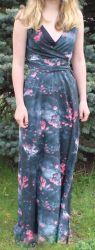 Papírový střih -  Dámské šaty Vilma