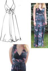 Papírový střih - Dámské šaty Vilma Mavatex
