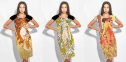 PANEL na šaty / triko –MUCHA 1+2- varianty mavaga design