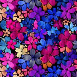 SILKY - akvarelové květy