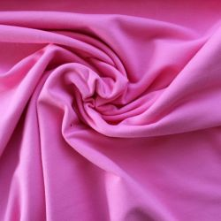 Jednolícní úplet středně růžová - elastan -barva 14 -200 gsm vyrobeno v EU
