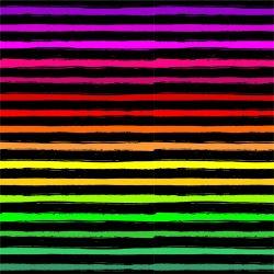 Duhové crash pruhy -sublimační digitální tisk mavaga design