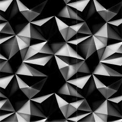 Černé 3D hroty -sublimační digitální tisk | Funkční úplet TORINO 140 gsm, GARZATO 200gsm- funkční úplet počesaný, Kočárkovina , LYCRA 200, Micropeach, Softshell jarní 285 gsm, Softshell letní pružný 220gsm, Softshell zimní 320 gsm, DOLOMITY