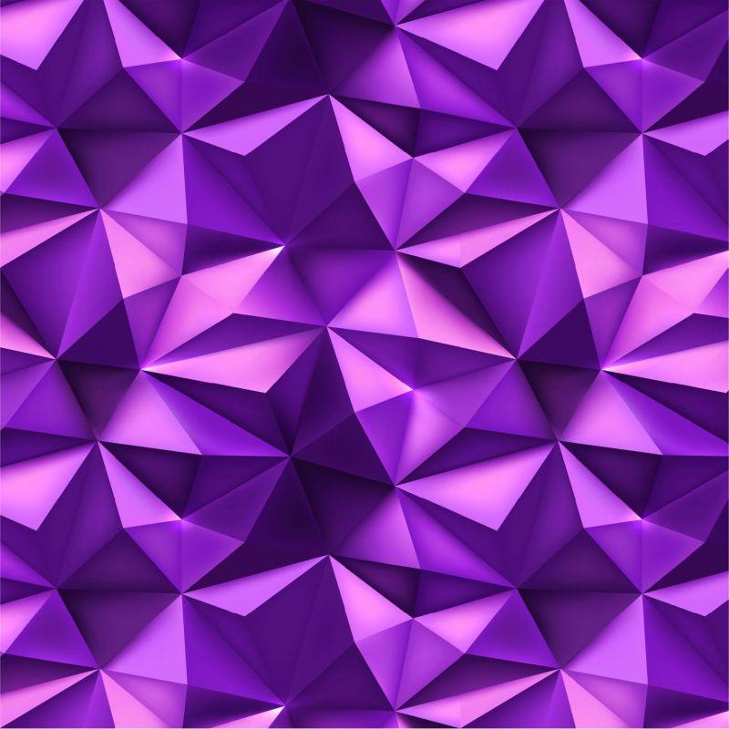 Fialové 3D hroty -sublimační digitální tisk mavaga design