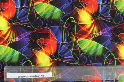 Jednolícní úplet barevný neon - 200 gsm vyrobeno v Turecku