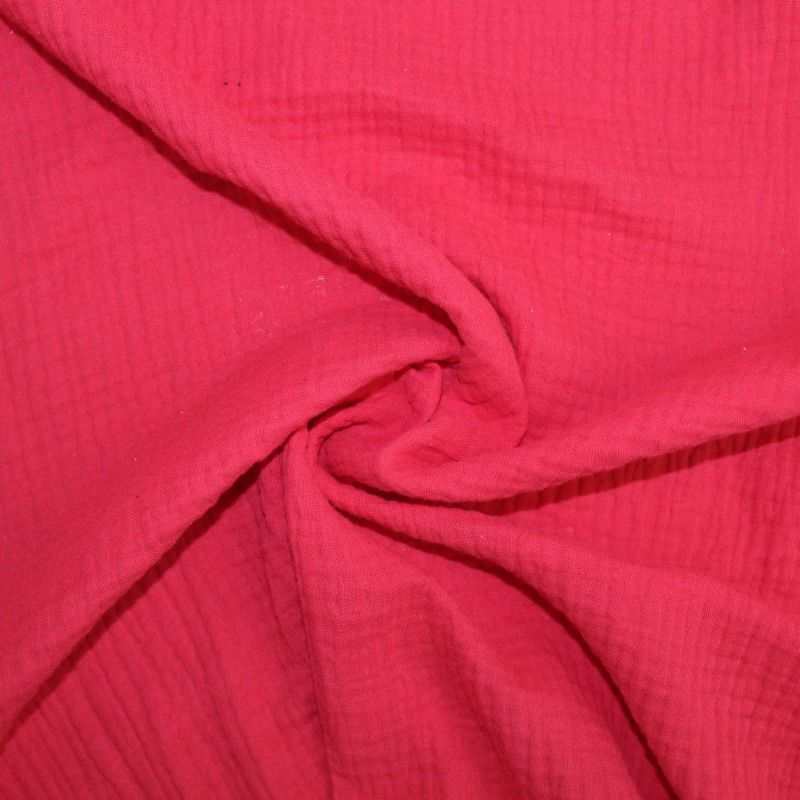 Mušelín ( fáčovina ) červená vyrobeno v EU- atest pro děti bavlna