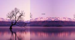 PANEL na šaty / triko/leginy –růžové hory- varianty