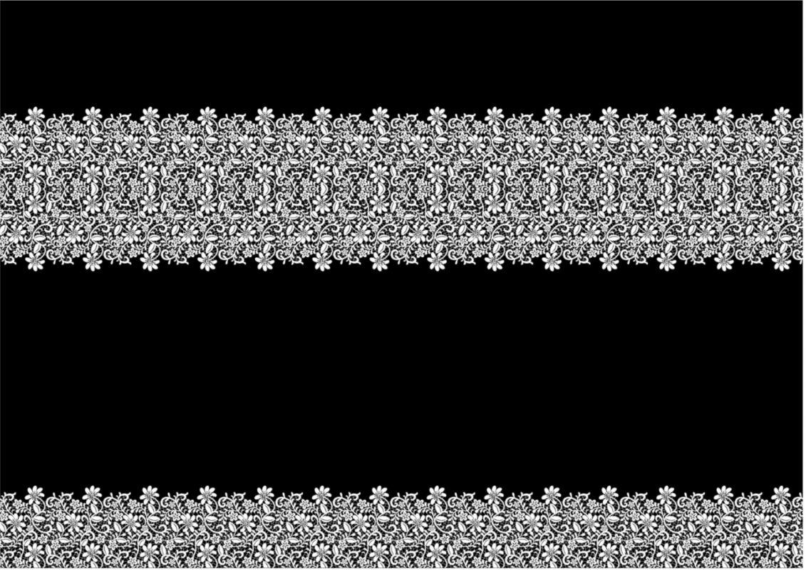 PANEL na šaty / triko/leginy –krajka na černé- varianty mavaga design