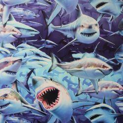 Teplákovina žralok -260 gsm