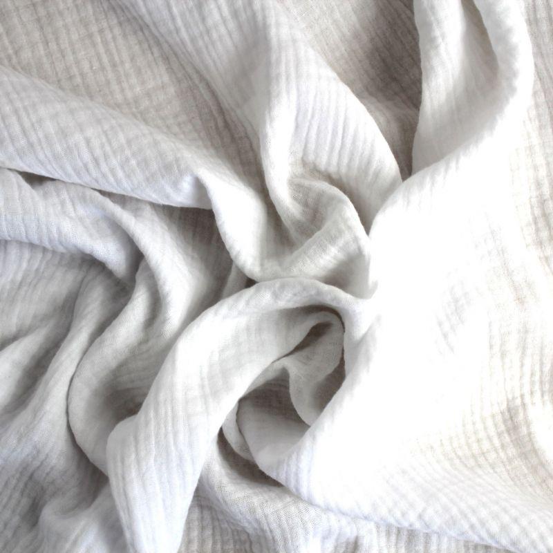 Mušelín ( fáčovina ) bílá vyrobeno v EU- atest pro děti bavlna