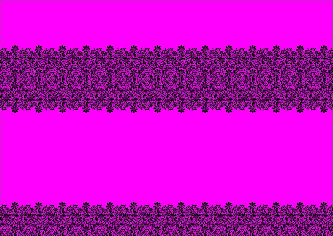 PANEL na šaty / triko/leginy –krajka na fluo růžové- varianty mavaga design