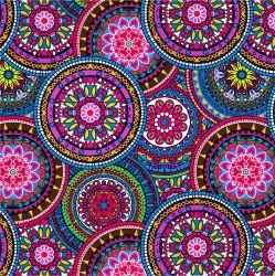 SILKY – růžovo-modré mandaly