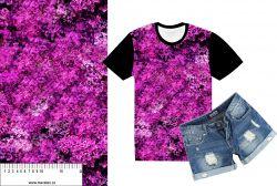 Šeříky růžové-sublimační digitální tisk mavaga design