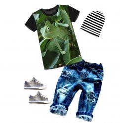 PANEL na triko –chameleon- varianty -DĚTSKÉ mavaga design
