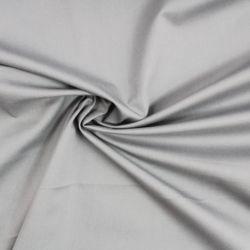 Světlounce šedá oboustraně barvená bavlna