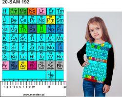 Jednolícní úplet chemie- 210 gsm EU-úplety atest pro děti