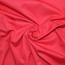 Jasně červená  bavlna oboustranně barvená