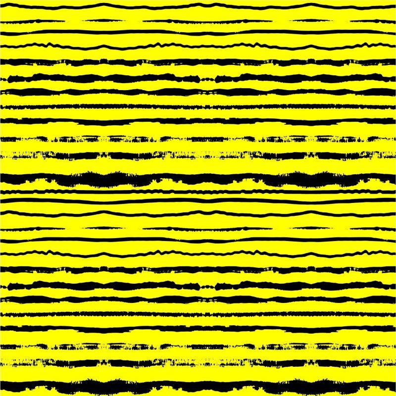 Černo-žluté crash pruhy -sublimační digitální tisk mavaga design