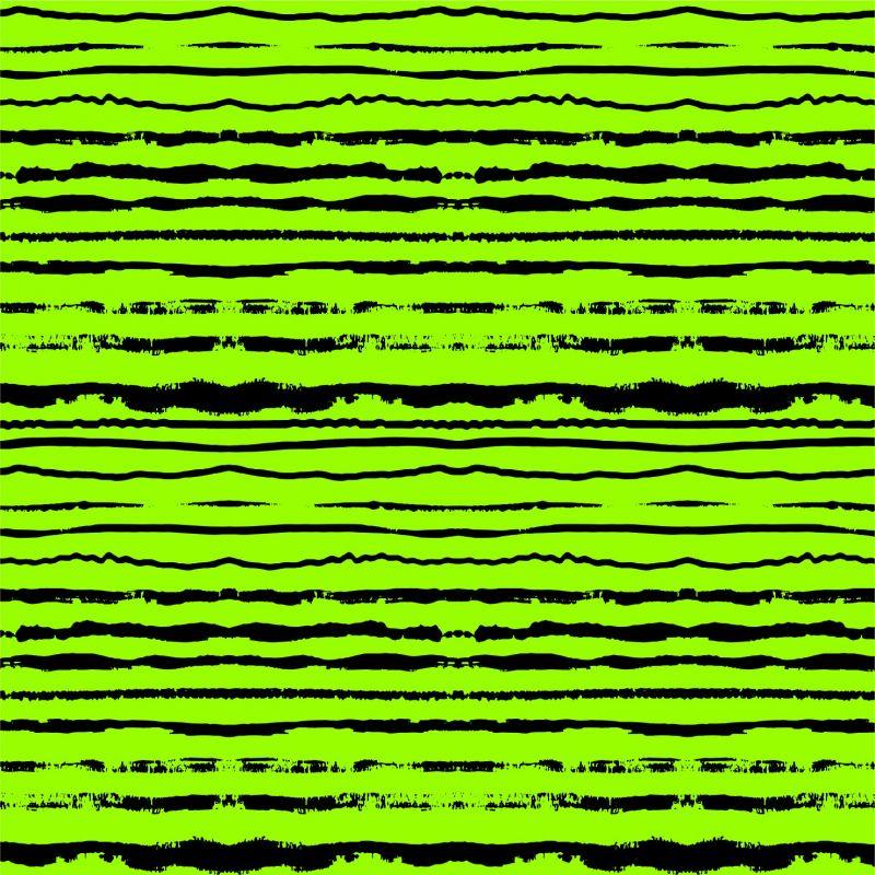 Černo-zelené crash pruhy -sublimační digitální tisk mavaga design