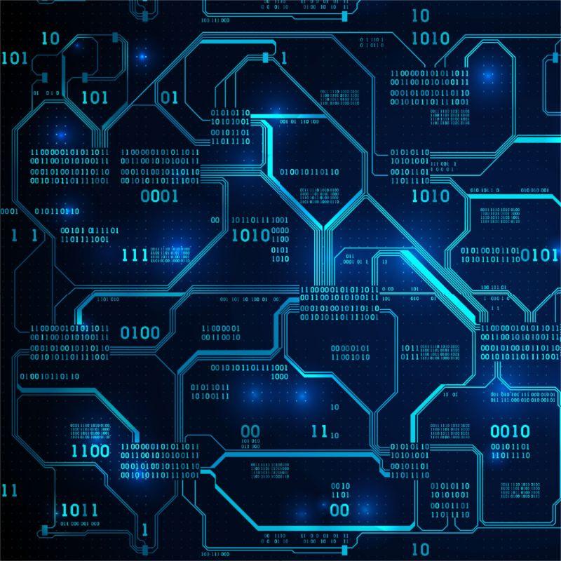 IT technik modrá -sublimační digitální tisk mavaga design