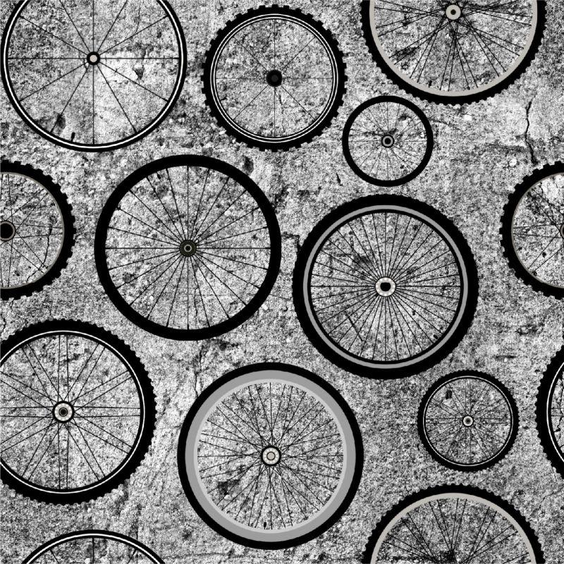 Kola na betonu -sublimační digitální tisk mavaga design