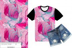 Mramor 2-růžová- digitální tisk mavaga design