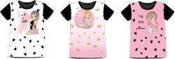 PANEL na triko –holky- varianty -DĚTSKÉ mavaga design