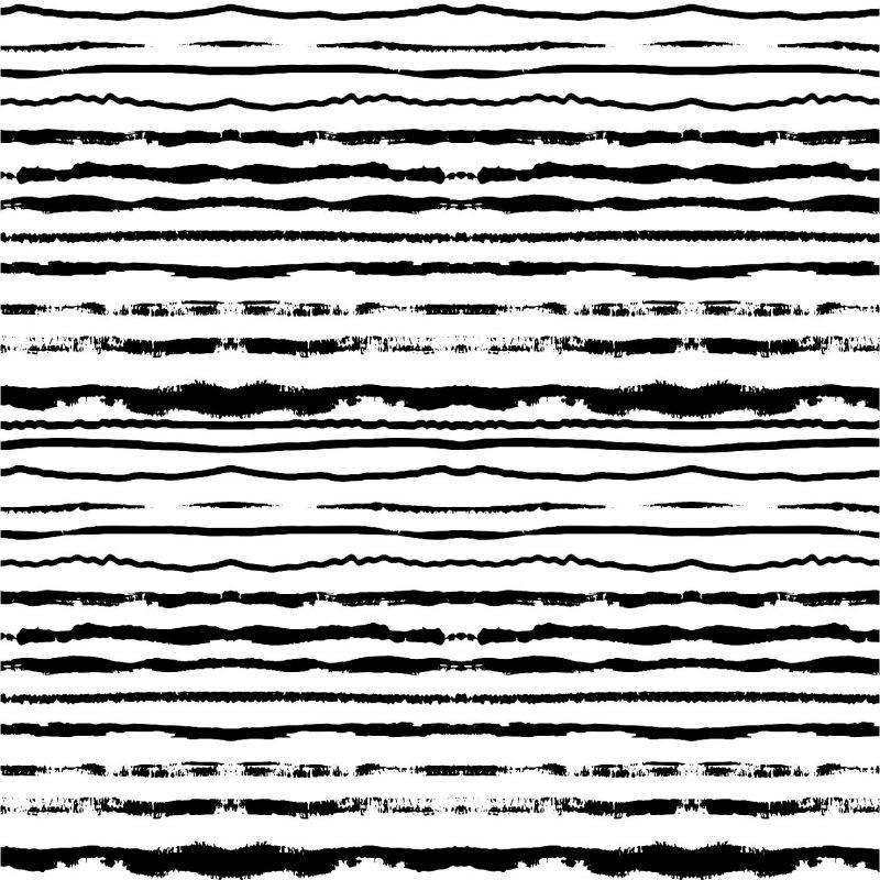 Černo-bílé crash pruhy -sublimační digitální tisk mavaga design