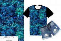 Tropické listy-sublimační digitální tisk mavaga design