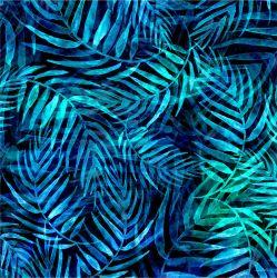 Tropické listy-sublimační digitální tisk | Funkční úplet TORINO 140 gsm, GARZATO 200gsm- funkční úplet počesaný, Kočárkovina , LYCRA 200, Micropeach, Softshell jarní 285 gsm, Softshell letní pružný 220gsm, Softshell zimní 320 gsm