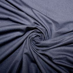 Tmavě modrý jednolícní úplet- barva 37 - 200 gsm