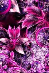 Růžové fraktální květy-sublimační digitální tisk | Funkční úplet TORINO 140 gsm, GARZATO 200gsm- funkční úplet počesaný, Kočárkovina , LYCRA 200, Micropeach, Softshell jarní 285 gsm, Softshell letní pružný 220gsm, Softshell zimní 320 gsm, DOLOMITY