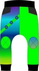 Panel na softshelové kalhoty -DESEN 2 mavaga design