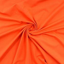 Jednolícní úplet oranžová- barva 60- 220 gsm