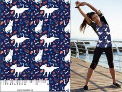 Funny bull terriers -sublimační digitální tisk mavaga design