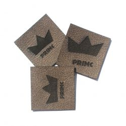 """Koženkový štítek gravír - """" PRINC """""""