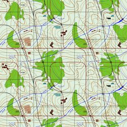 Mapy -sublimační digitální tisk mavaga design