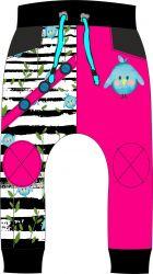 Panel na softshelové kalhoty -DESEN 4 mavaga design