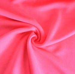 Teplákovina fluo růžová počesaná - 320 gsm