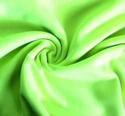 Teplákovina fluo žluto-zelená počesaná - 320 gsm