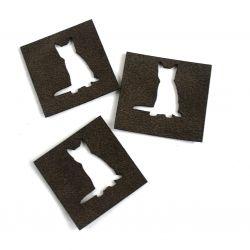 Výsekové koženkové štítky