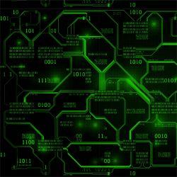 Jednolícní úplet IT technik zelená - 210 gsm