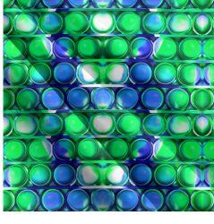 POPIT-zelený mix- digitální tisk | Funkční úplet TORINO 140 gsm, GARZATO - funkční úplet počesaný, LYCRA 200, DOLOMITY, Softshell zimní 320 gsm, Softshell jarní 285 gsm, Softshell letní pružný , Kočárkovina , Micropeach