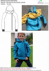 Papírový střih - Dětská bunda -VALENTINkA