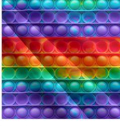 POPIT- barevný mix- digitální tisk | Funkční úplet TORINO 140 gsm, GARZATO - funkční úplet počesaný, LYCRA 200, DOLOMITY, Softshell zimní 320 gsm, Softshell jarní 285 gsm, Softshell letní pružný , Kočárkovina , Micropeach