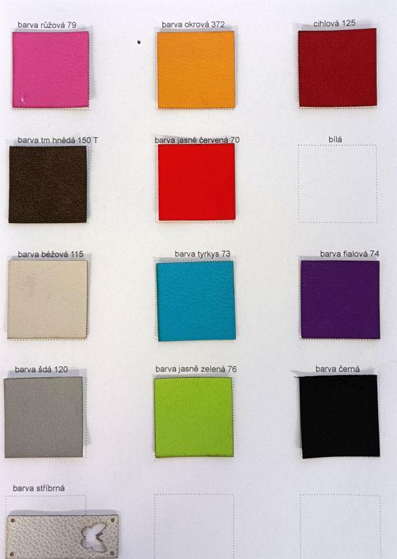 Vzorník - barevnice bavlna hladká- aktuelní vzorky na skladě český výrobce
