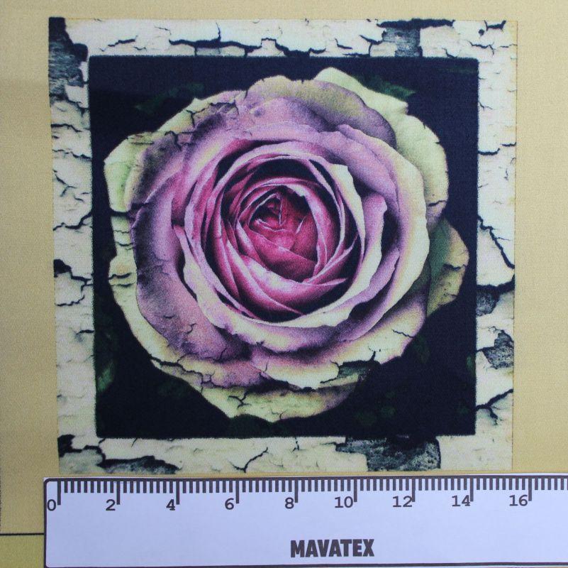 Panel retro růže- tisk obrázků, obrázky na látce , látka auto Tukan